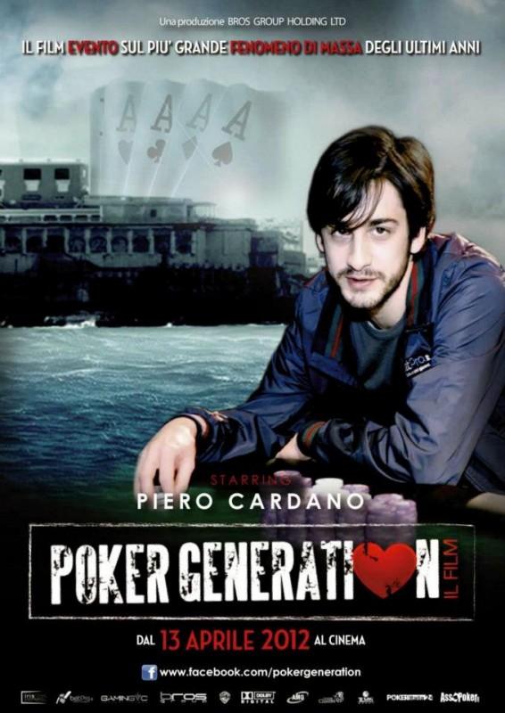 Poker Generation: la locandina del film con Piero Cardano