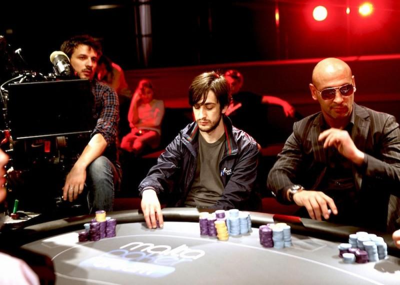 Poker Generation: Piero Cardano sul set del film