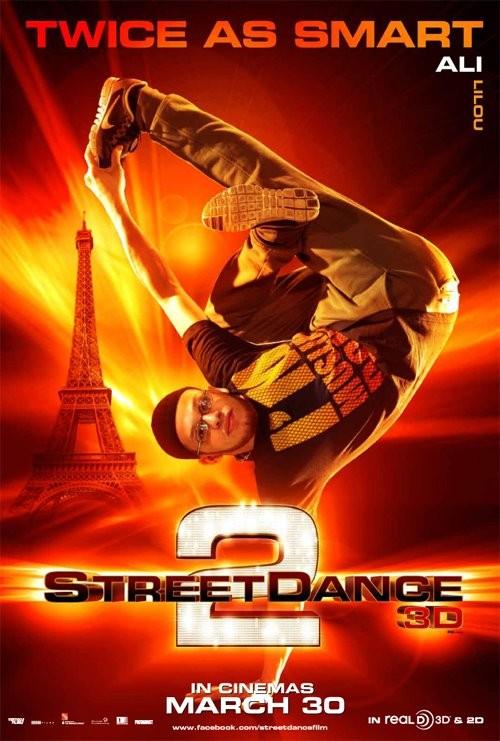 StreetDance 2: il character poster di Ali con Ali Ramdani
