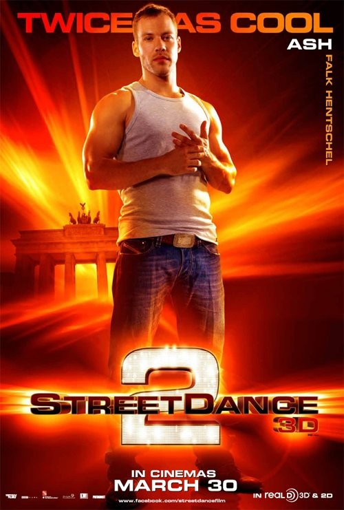 StreetDance 2: il character poster di Ash con Falk Hentschel
