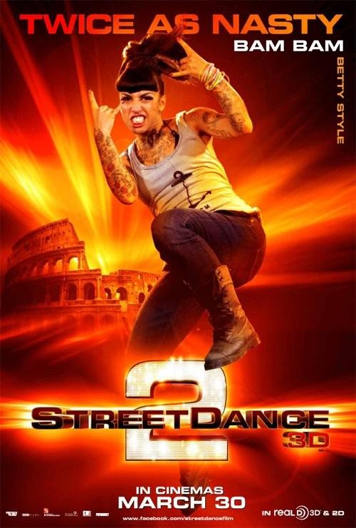 StreetDance 2: il character poster di Bam Bam con Elisabetta Di Carlo