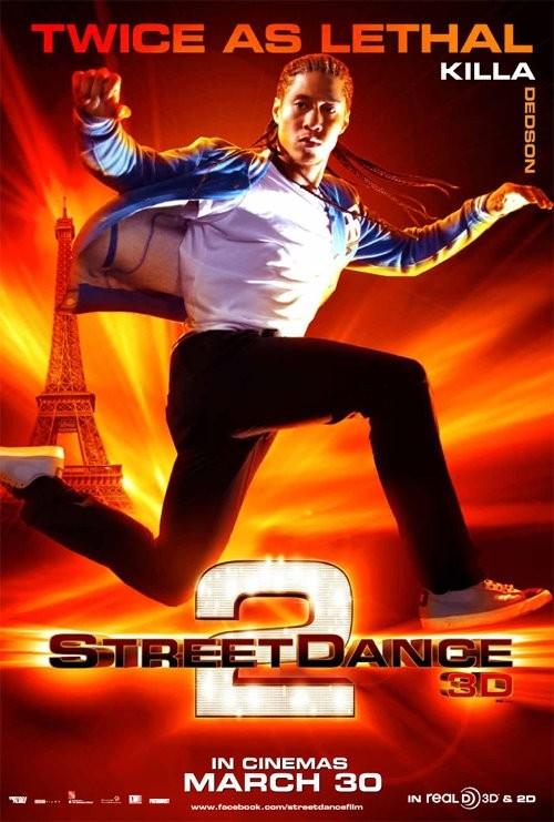 StreetDance 2: il character poster di Killa con Ndedi Ma-Sellu