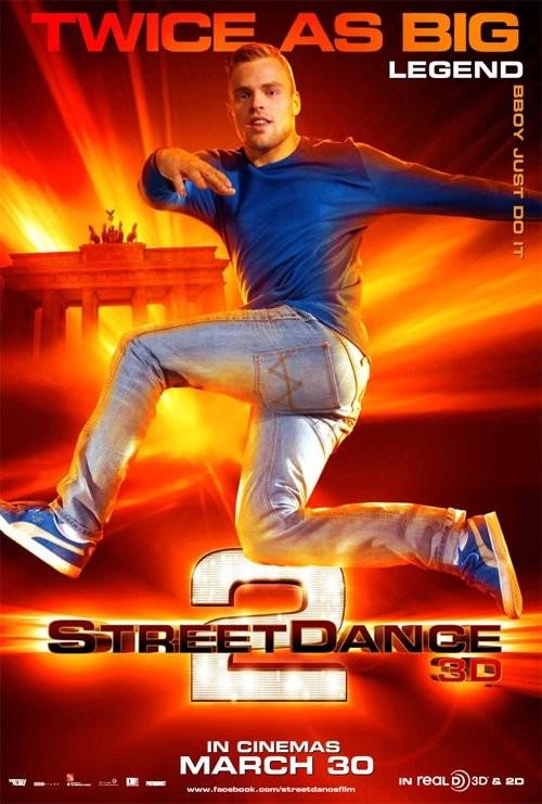 StreetDance 2: il character poster di Legend con Niek Traa