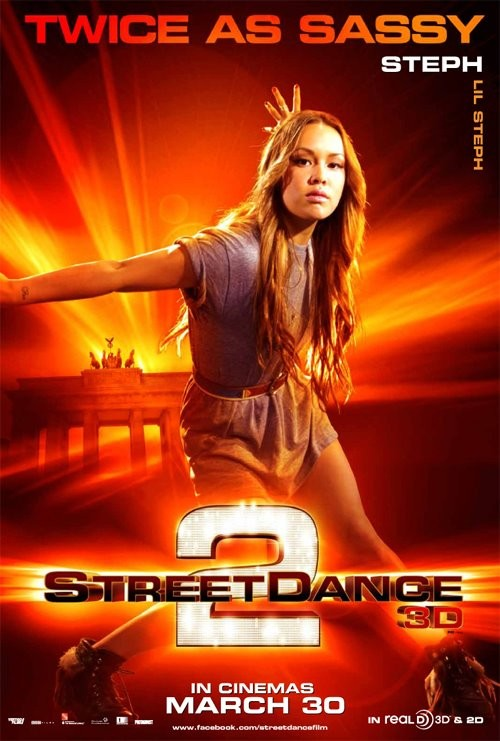 StreetDance 2: il character poster di Steph con Stephanie Nguyen