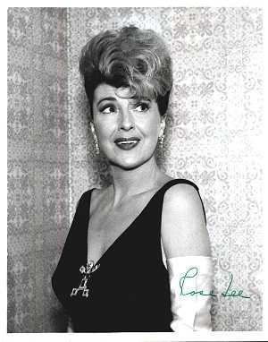 Gypsy Rose Lee, una foto della star del burlesque