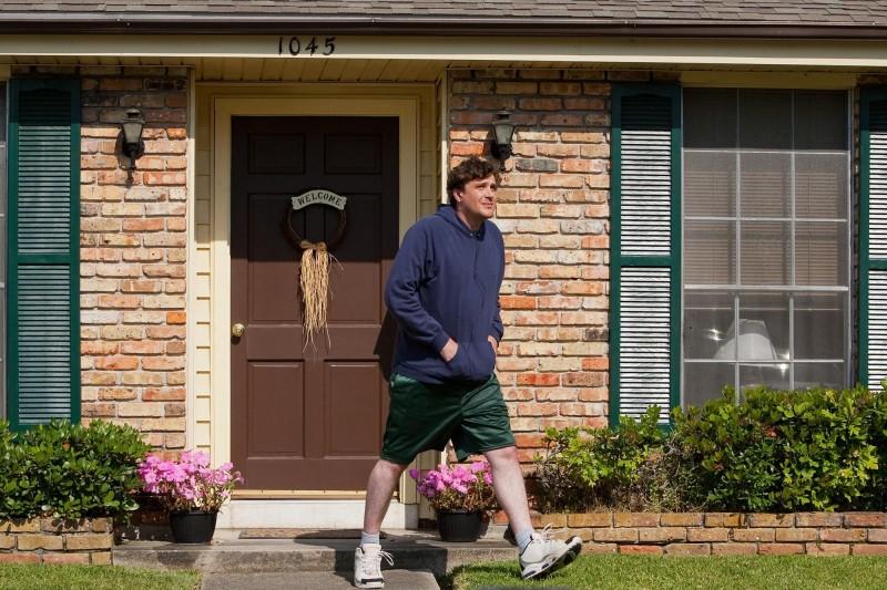 Jason Segel in una scena di Jeff Who Lives at Home