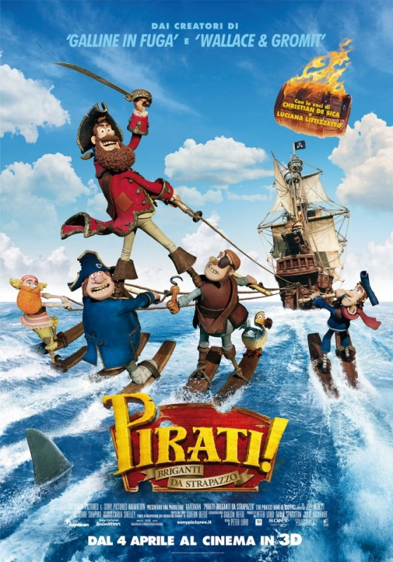 Pirati! Briganti da strapazzo: una locandina italiana del film