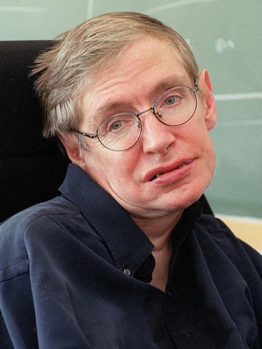 Una foto di Stephen Hawking