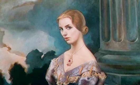 Il ritratto di Carlotta Valdez del film La donna che visse due volte