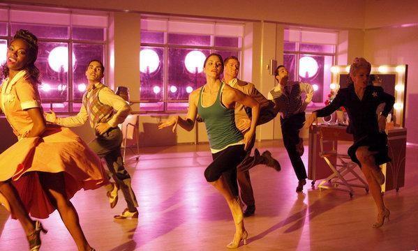 Katharine McPhee nel ruolo di Karen Cartwright balla nell'episodio Il secondo provino di Smash