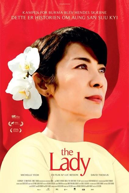 The Lady: il poster danese del film