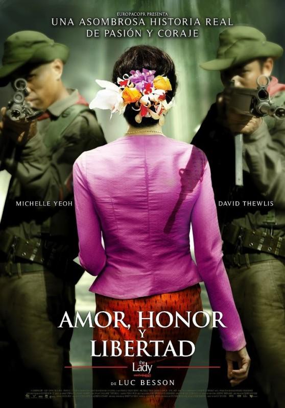 The Lady: il poster spagnolo del film