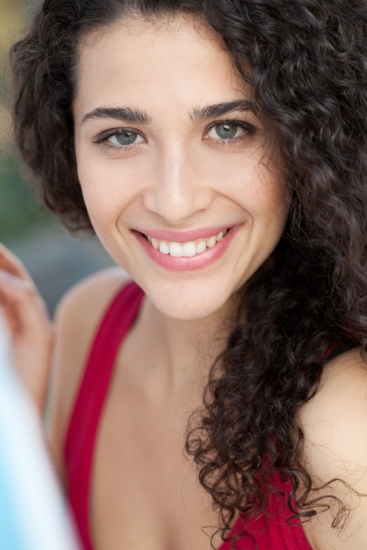 Una sorridente Katia Greco