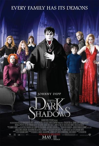 Dark Shadows: ecco la locandina