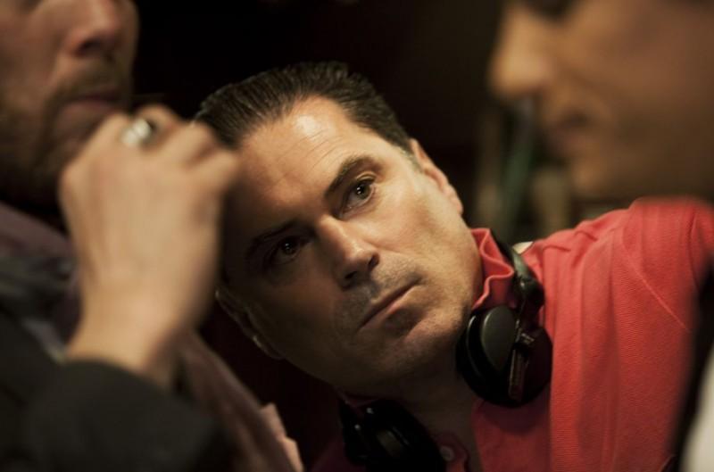 Florent Emilio Siri sul set di CloClo
