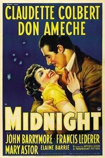 La signora di mezzanotte: la locandina del film