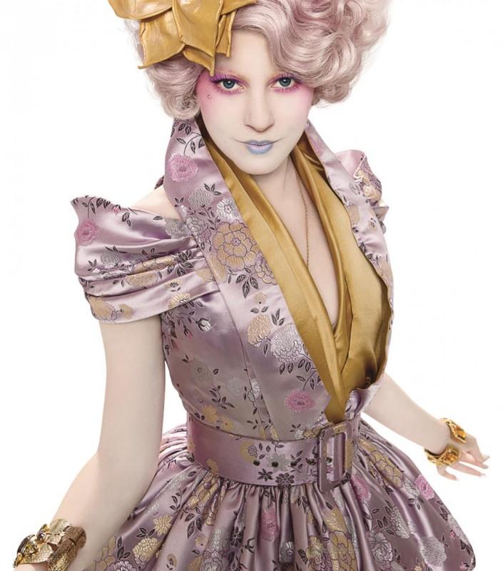 Elizabeth Banks è Effie Trinkets in Hunger Games
