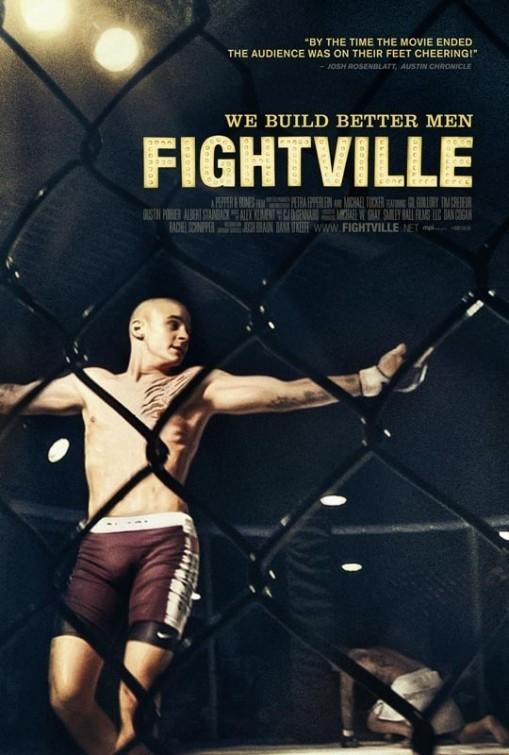 Fightville: la locandina del film