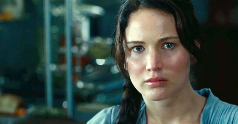 Hunger Games: un primo piano di Jennifer Lawrence