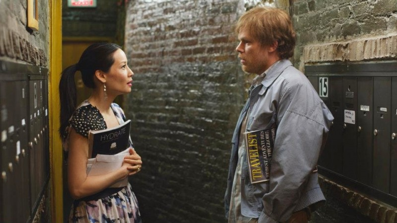 Lucy Liu e Michael C. Hall in The Trouble with Bliss