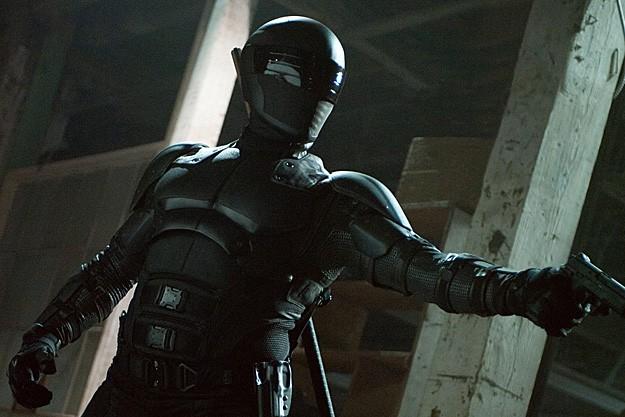 Ray Park nei panni di Snake Eyes in G.I. Joe: La vendetta