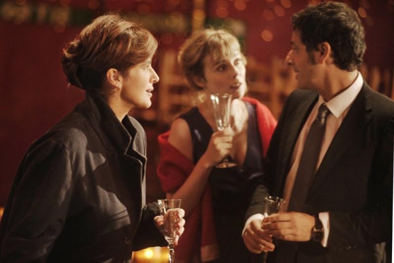Ciliegine: Laura Morante insieme a Isabelle Carré e a Pascal Elbé in una scena del film