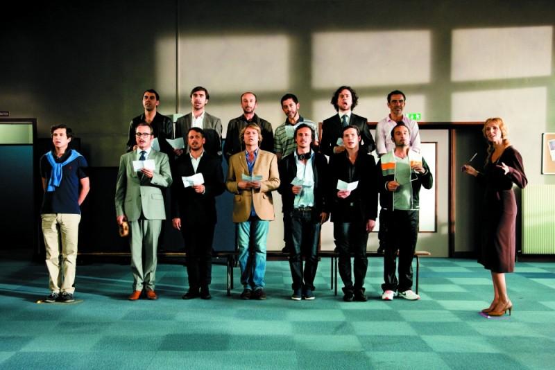 Gli infedeli: Sandrine Kiberlain dirige Jean Dujardin e Gilles Lellouche e tutti gli altri infedeli