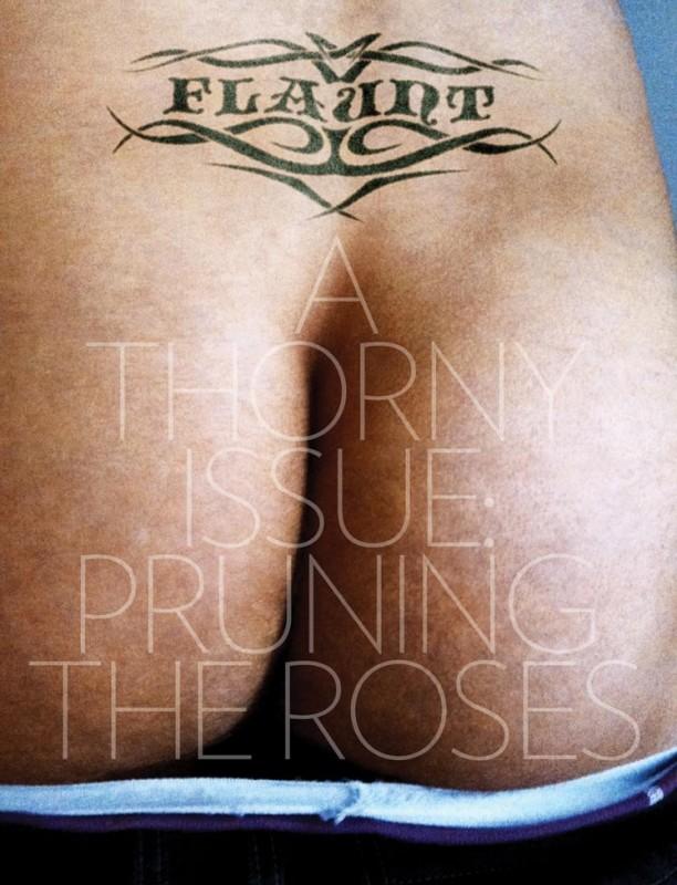 Il sedere di James Franco sulla cover del magazine Flaunt