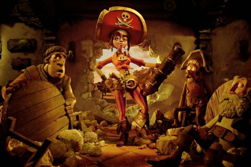 Pirati! Briganti da strapazzo: Cutlass Liz, la Bonaccia, in una scena del film