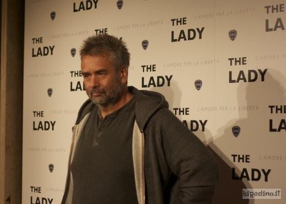 The Lady: Luc Besson alla premiere romana del film (foto di Simona Foti)