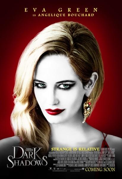 Character poster di Eva Green in Dark Shadows