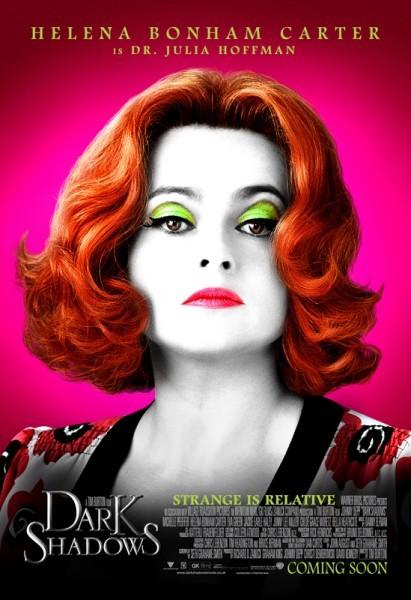 Character poster di Helena Bonham Carter in Dark Shadows