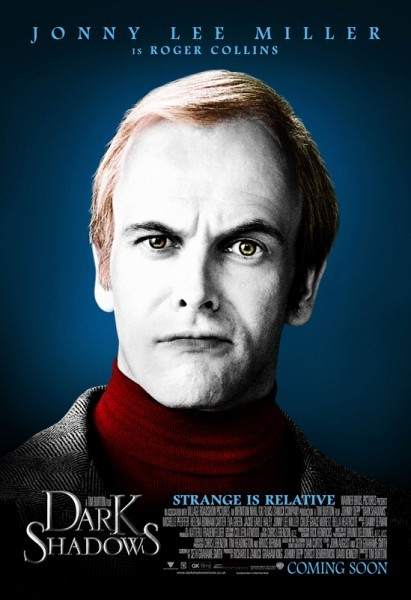 Character poster di Jonny Lee Miller in Dark Shadows