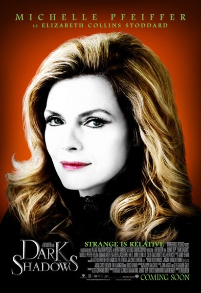 Character poster di Michelle Pfeiffer in Dark Shadows