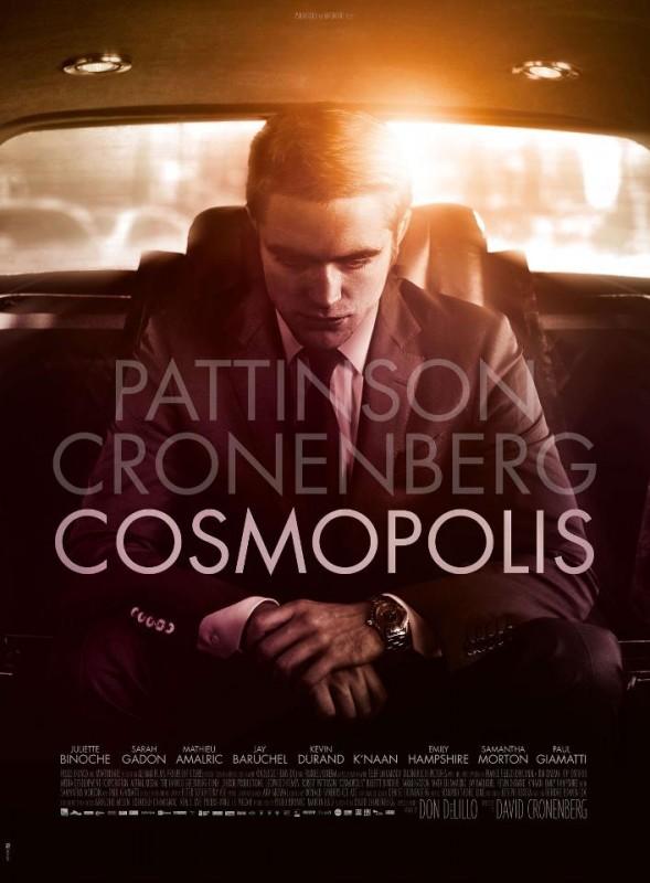 Cosmopolis: ecco la nuova locandina che mostra l'immagine di Robert Pattinson