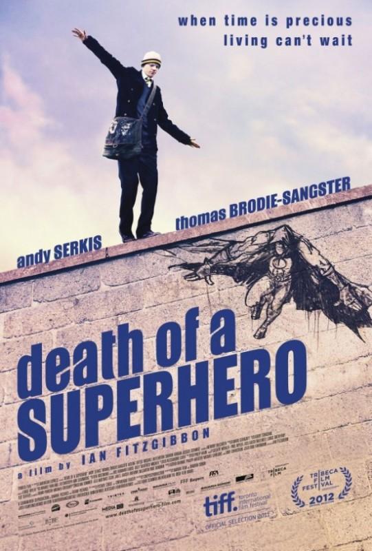 Death of a Superhero: ecco la nuova locandina