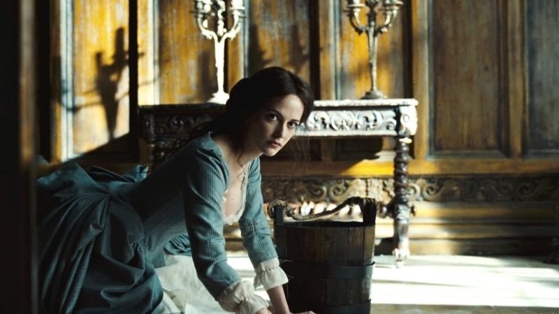 Eva Green nei panni di Angelique Bouchard in Dark Shadows