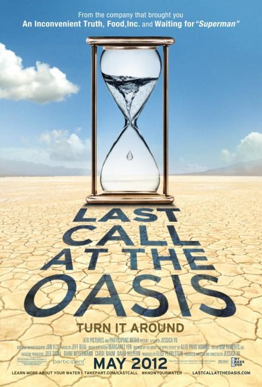 Last Call at the Oasis: la locandina del film