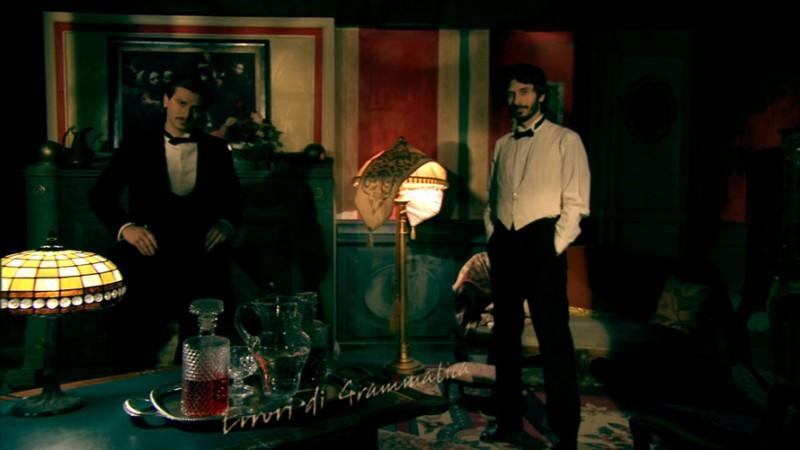 RASPUTIN di Louis Nero - Feliks and Dimitrij (gli attori Daniele Savoca e Marco Sabatino)