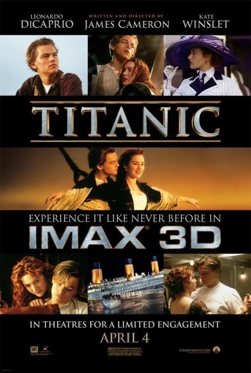 Titanic in 3D: nuovo poster IMAX