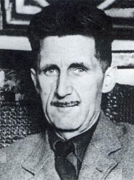 Una foto di George Orwell