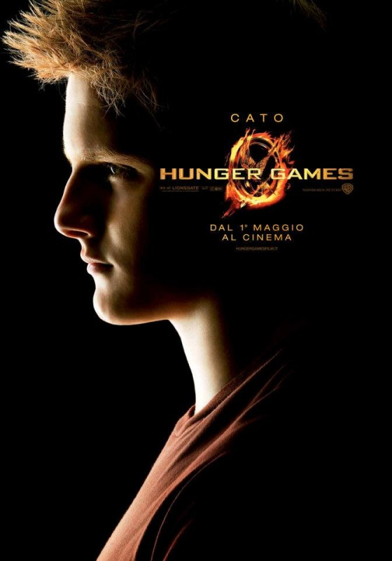 Hunger Games: Character Poster italiano per Cato/Alexander Ludwig