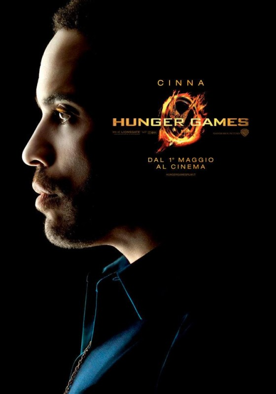 Hunger Games: Character Poster italiano per Cinna/Lenny Kravitz
