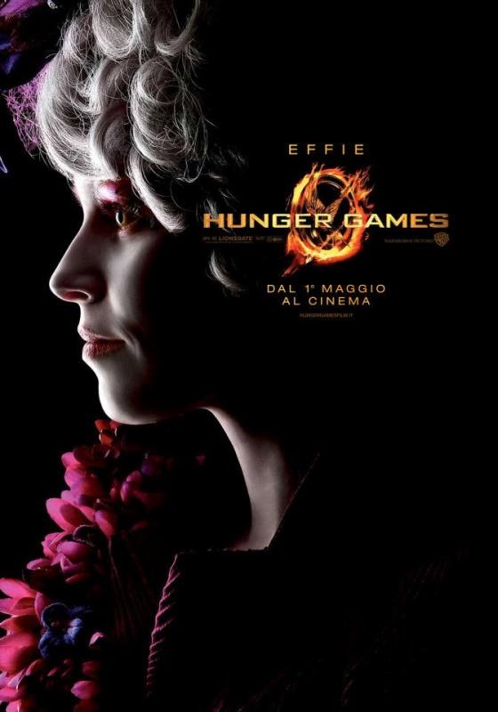 Hunger Games: Character Poster italiano per Effie/Elizabeth Banks