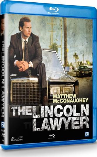 La copertina di The Lincoln Lawyer (blu-ray)