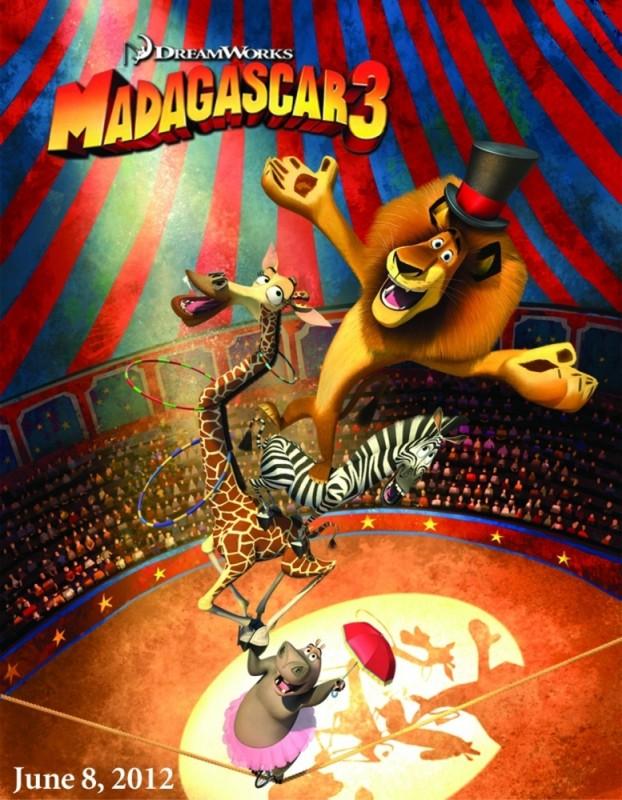 Madagascar 3: un nuovo promo poster USA