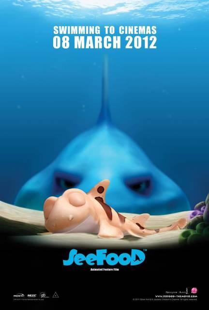 Seafood - Un pesce fuor d'acqua: il poster del film