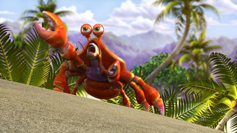Seafood - Un pesce fuor d'acqua: l'amica aragosta in una scena del film