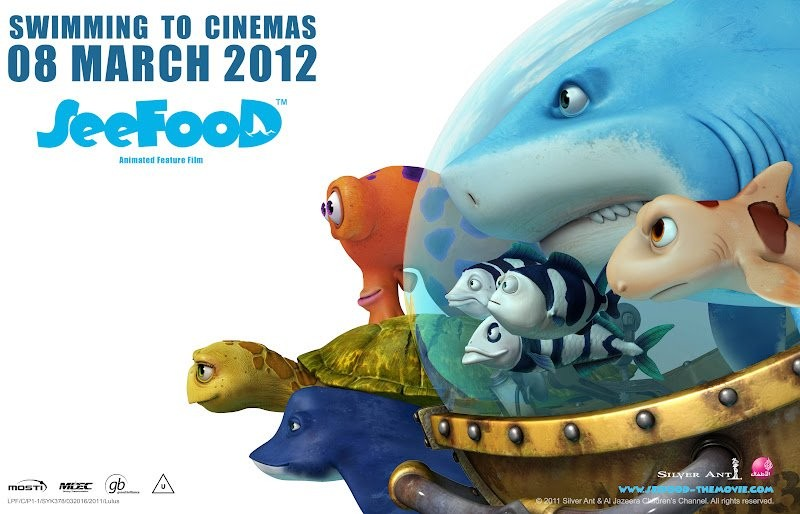 Seafood - Un pesce fuor d'acqua: un wallpaper del film