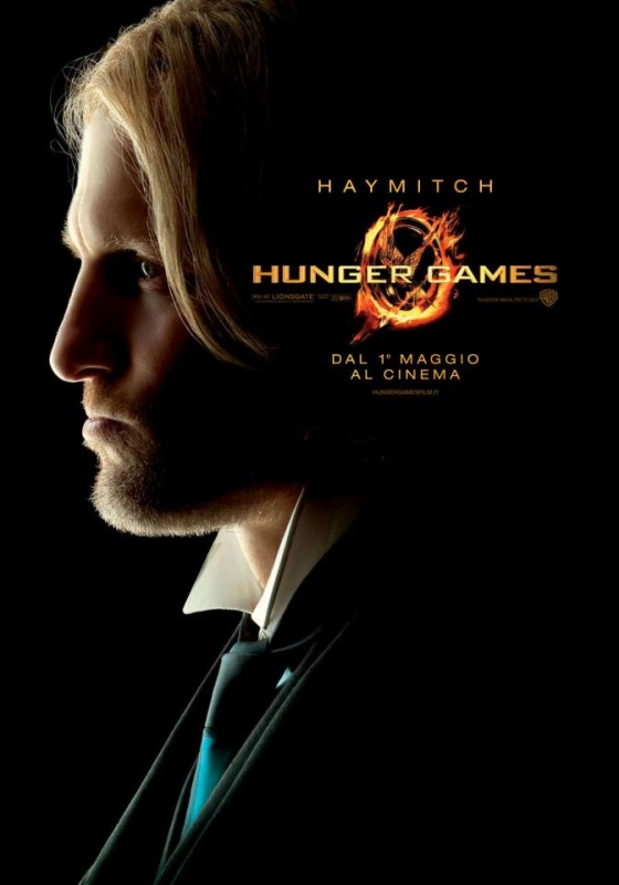 Hunger Games: Character Poster italiano per Haymitch/Woody Harrelson